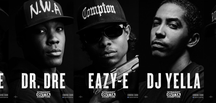 Straight Outta Compton. Director F. Gary Gray. O'Shea Jackson Jr., Corey Hawkins, Jason Mitchell, Neil Brown Jr., Aldis Hodge. 2015.