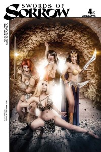 Swords of Sorrow 04 Cosplay Variant Cover, Dynamite 2015
