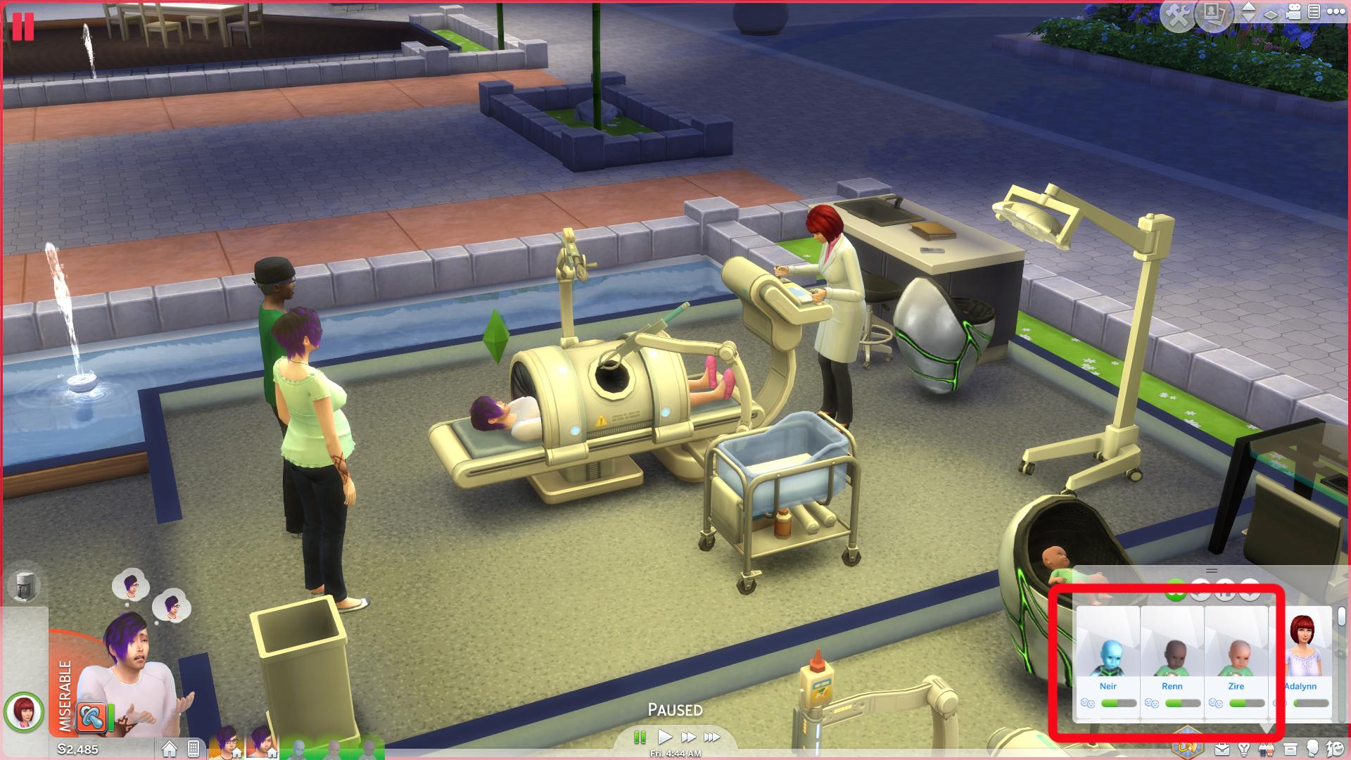 Sims 4 Maxis