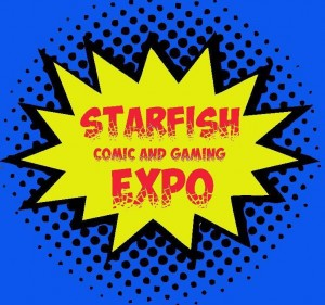 Starfish Comic and Gaming Expo Logo