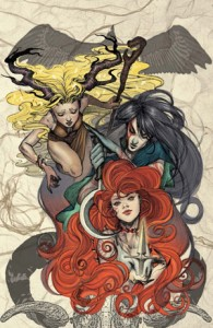 Toil & Trouble by Mairghead Scott, variant cover by Kyla Vanderklugt, Archaia, 2015
