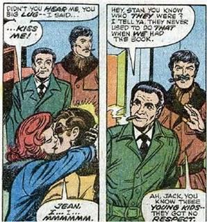 Scott & Jean kiss, X-Men 98, Marvel Comics