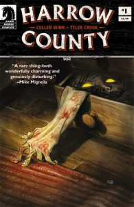 Harrow County #1 by Cullen Bunn, cover and art by Tyler Crook, Dark Horse 2015