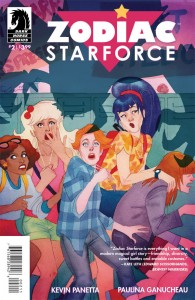Zodiac Starforce #2 cover by Kevin Wada, Dark Horse 2015