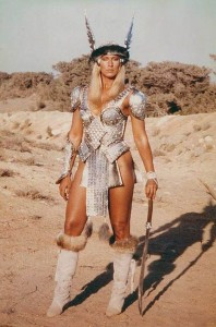 Valeria as depicted by Sandhal Bergman for the Conan the Barbarian 1982 film.