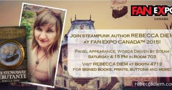Rebecca Diem at Fan Expo Canada | www.rebeccadiem.com