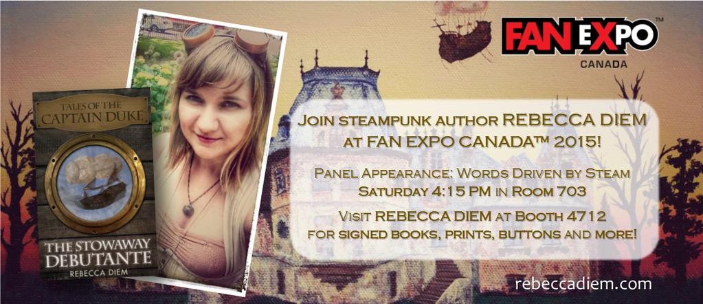 Tales of the Captain Duke Author Rebecca Diem Talks Steampunk, Writing, and the Joys of Airships