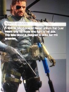 Quiet's alternate costumes, Phantom Pain, Metal Gear Franchise, Konami, 2015, screencap via @Jayne_Pea