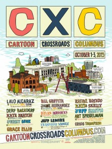 CXC festival poster designed by dustin harbin