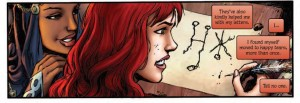 Red Sonja #18, words by Gail Simone, art by Walter Geovani, Dynamite 2015