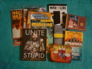 Comics in Loot Crate and Nerd Block