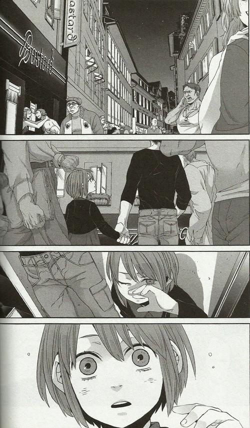 From Gangsta Chapter 30 in Volume 6. Story & art by Kohske. VIZ Media/Shinchosha