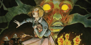 Harrow County #2 by Cullen Bunn, cover and art by Tyler Crook, Dark Horse 2015