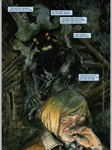 Harrow County #3 by Cullen Bunn, cover and art by Tyler Crook, Dark Horse 2015