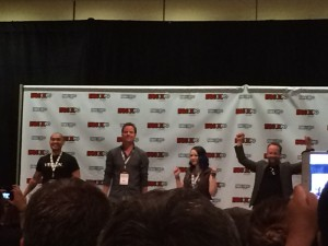 Dark Matter cast at Fan Expo 2015