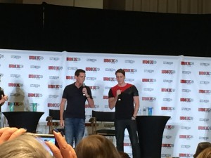 James Phelps Oliver Phelps Fan Expo 2015
