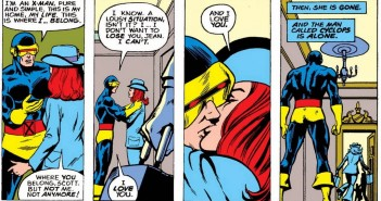 Scott & Jean Goodbye, The All-New, All-Different X-Men #94