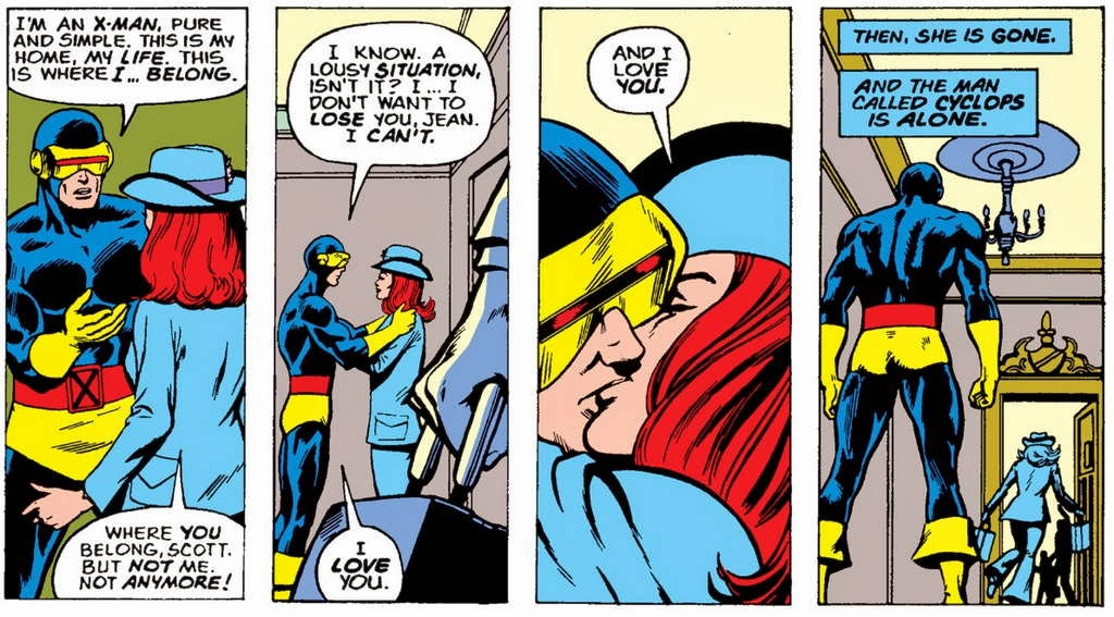 Scott & Jean Goodbye, X-Men
