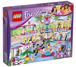 The Lego Friends Heartlake City Shopping Mall.
