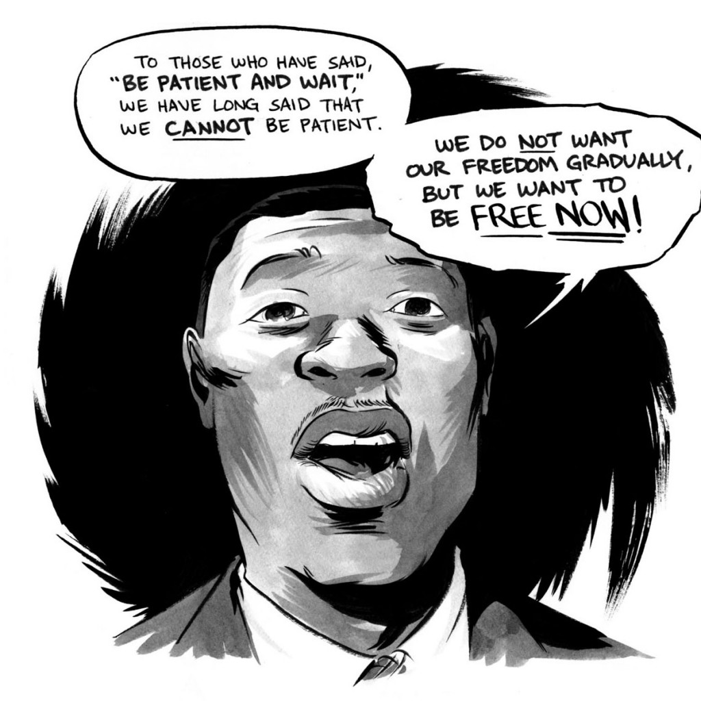John Lewis delivering his March on Washington speech