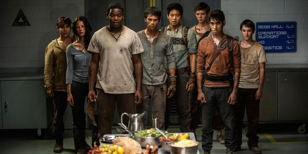 Maze Runner: The Scorch Trials. Dylan O'Brien, Kaya Scodelario, Thomas Brodie-Sangster, Ki Hong Lee. Director Wes Ball. Movie.