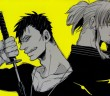 Nic & Worick from Gangsta. Art by Kohske. VIZ Media/Shinchosha