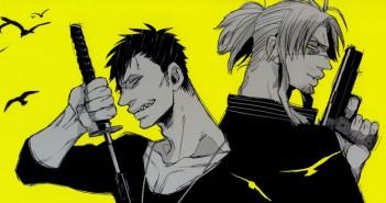 Nic & Worick from Gangsta. Art by Kohske. VIZ Media/Shinchosha