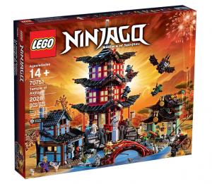 A Lego Ninjago kit.