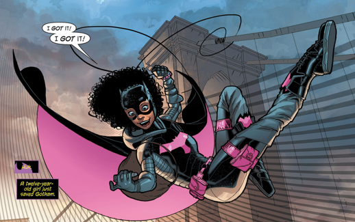 Tiffany Fox: Our Future Batgirl?