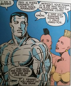 Classic X-Men #21   Chris Claremont (w), John Bolton (p) Marvel Comics (1988)