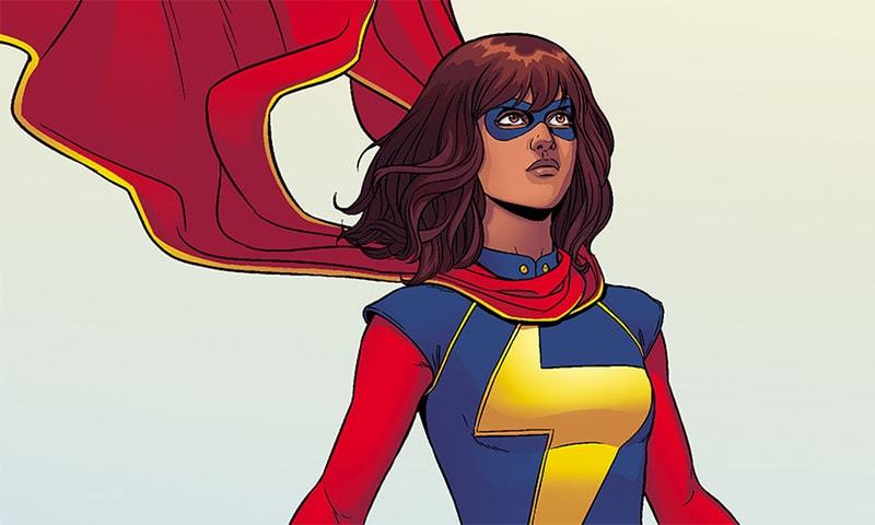 New Jersey via Pakistan via Scotland: Making Mine Ms. Marvel
