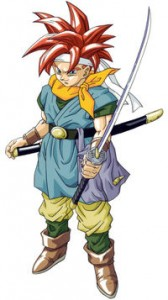Official artwork of Crono by Akira Toriyama | Chrono Trigger