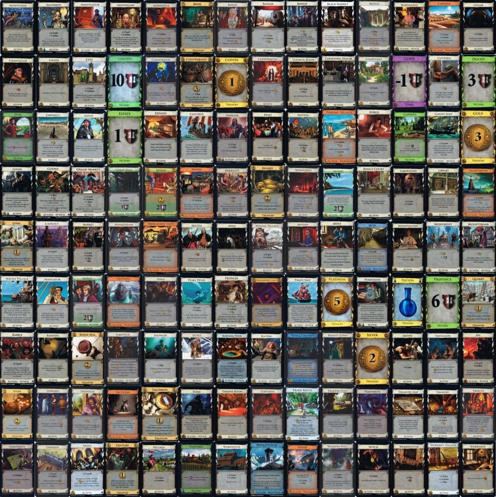 Dominion cards photo cred Board Game Geeks