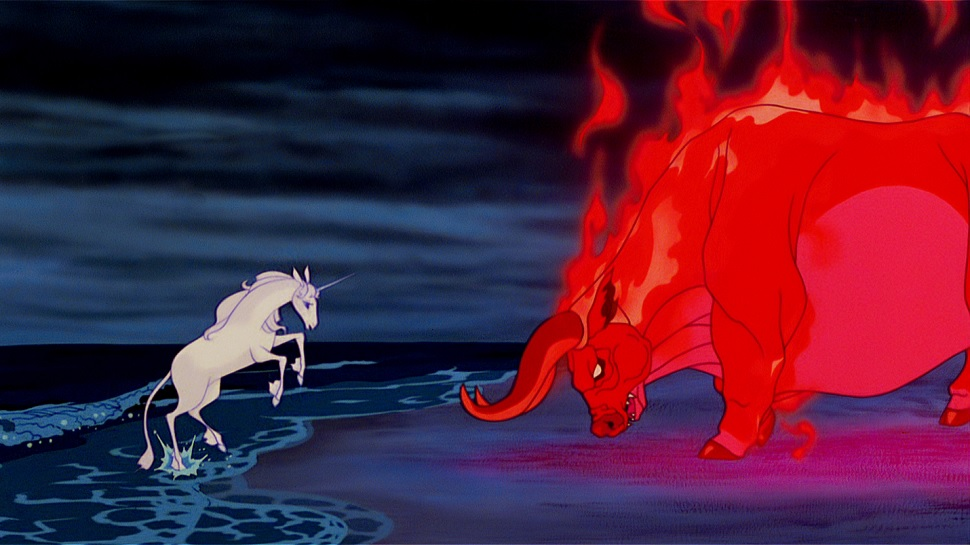 My First Horror Movie: The Last Unicorn