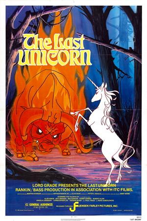 Last Unicorn Film Cover