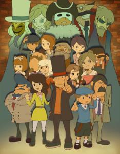 Professor Layton Royale, Nintendo, 2011