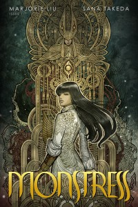 Monster Issue 1 cover, writer Marjorie Liu, artist Sana Takeda, Image Comics 2015