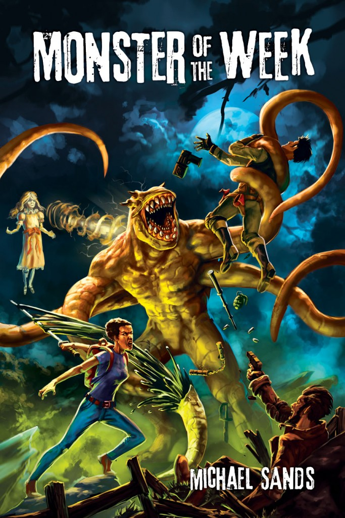 Monster of the Week Michael Sands Halloween rpgs