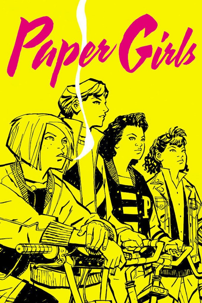 Paper Girls, Brian K Vaughn, Cliff Chiang, Image Comics, 2015