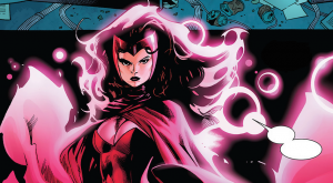 It's Different Than the Comics: Scarlet Witch
