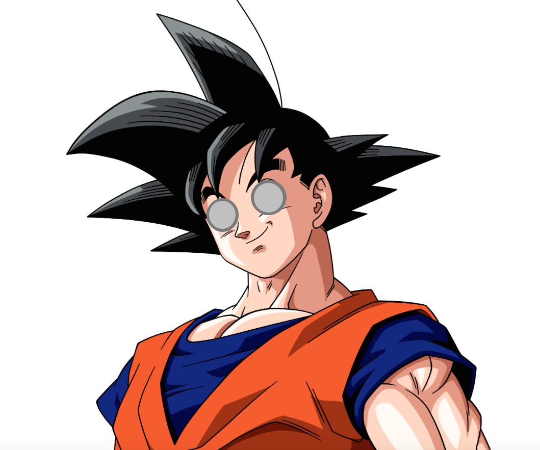 Goku as Batou
