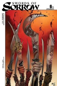 Swords of Sorrow #6 | Gail Simone (w) Sergio Davila (i), Tula Lotay, Emanuela Lupacchino (covers) | Dynamite Entertainment
