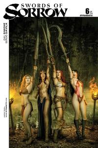 Swords of Sorrow #6 | Gail Simone (w) Sergio Davila (i), Cosplay Cover| Dynamite Entertainment