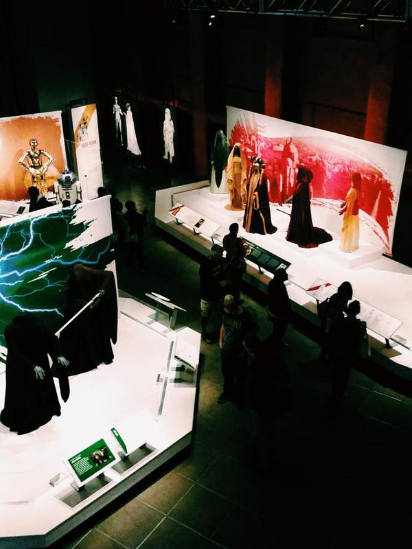 """""""Star Wars and the Power of Costume"""" at the EMP, September 2015. Smithsonian Institution, Lucasfilm Ltd."""