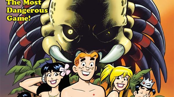 Archie vs. Predator #1, Alex de Campi (script), Fernando Ruiz (pencils), Rich Koslowski (inks), Jason Millet (colors), John Workman (letters), Dark Horse, 2015