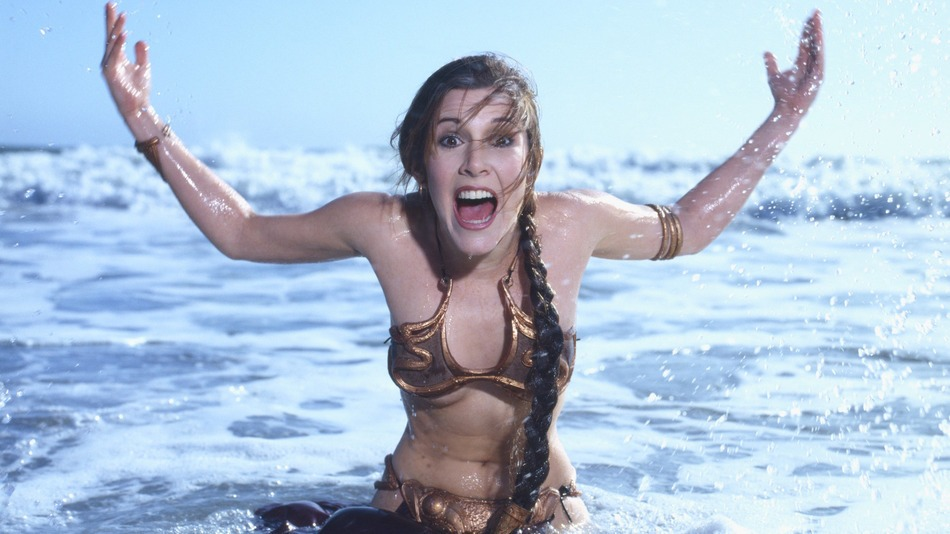 Carrie Fisher, Rolling Stone (1983)