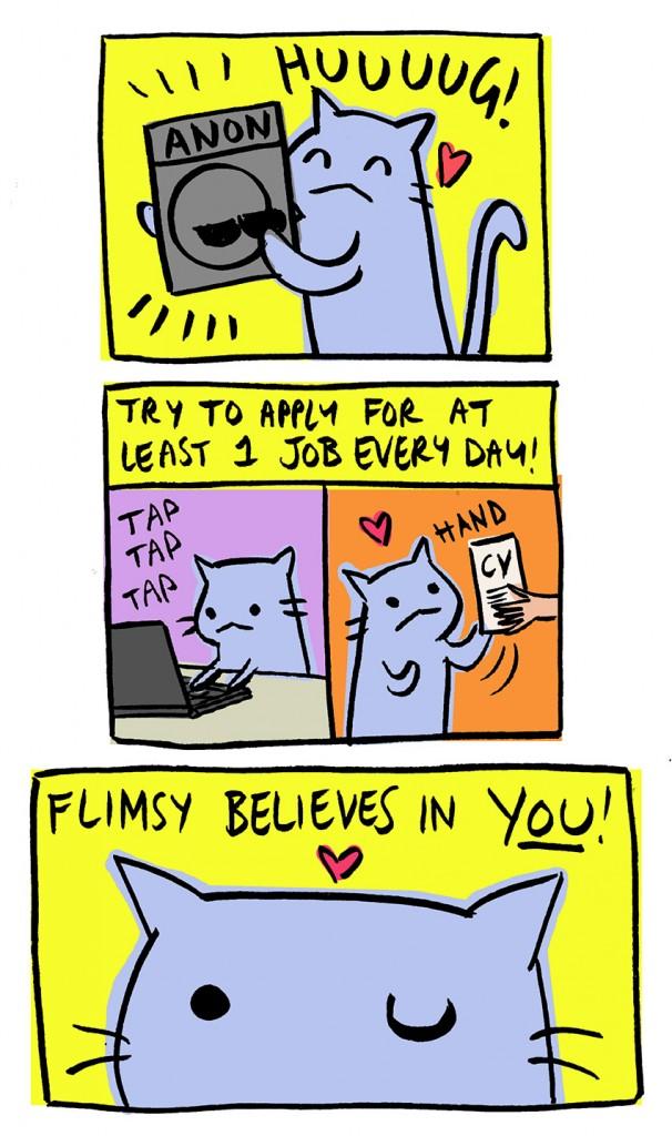 Ask Flimsy Job Hunting