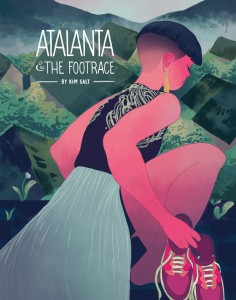 The cover of Atalanta and the Footrace.