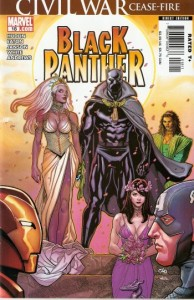 Black Panther vol4 #18 | Marvel Comics - Civil War Cover art by Frank Cho