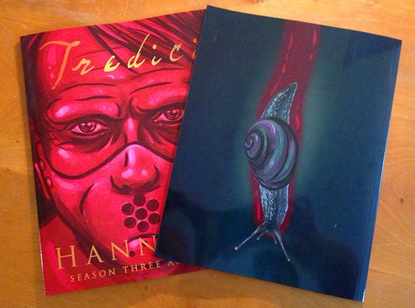 Bloody and Beautiful: Review of  Tredici: Hannibal Season Three Art Book